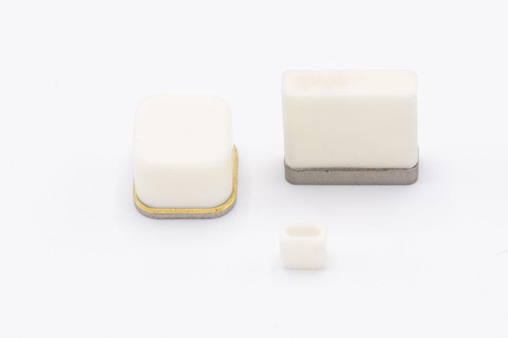 sct ceramics boîtiers céramique-métal brasés à l'or implantables pour les pacemakers