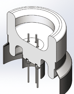 ceramic-to-metal feedthroughs designs SCT Ceramics